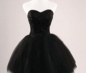 Black Ball Gown Swee..