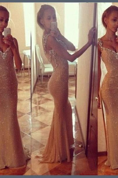 Custom Made Sweetheart Neck Long Prom Dresses, Long Formal Dresses